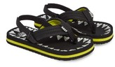 Reef Boy's Ahi Glow In The Dark Flip Flop