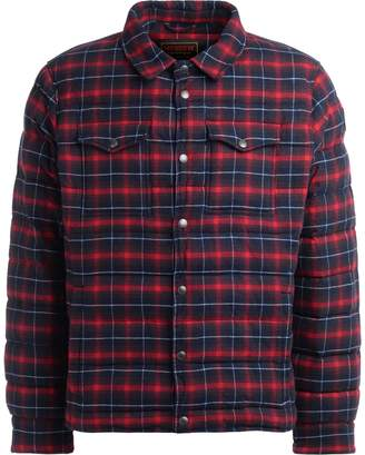 Museum Jonah Shirt Jacket Made Of Red, Blue And White Tartan Fabric