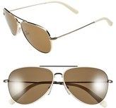 Bobbi Brown 'The Dakota' 59mm Aviator Sunglasses