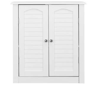 Elegant Home Fashions Sierra 2-Door Bathroom Storage Wall Cabinet