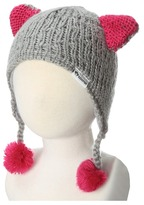 Appaman Kids Kitten Ear Trapper Hat (Infant/Toddler) (Mist) Cold Weather Hats
