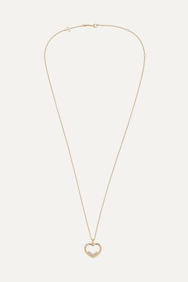 Chopard + Net Sustain Happy Diamonds 18-karat Gold Diamond Necklace - one size