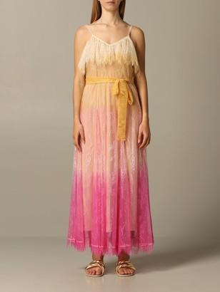 Twin-Set Dress In Degradeacute; Lace