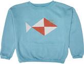 Bobo Choses Fish cotton sweatshirt