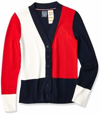 Tommy Hilfiger Women's ADP W Sandra FNDL Rib CB Cardigan Sweater