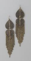 Hearts & Chain Earrings