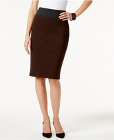 INC International Concepts Pull-On Pencil Skirt, Created for Macy's