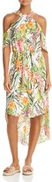 Adelyn Rae Leanna Floral Cold Shoulder Dress