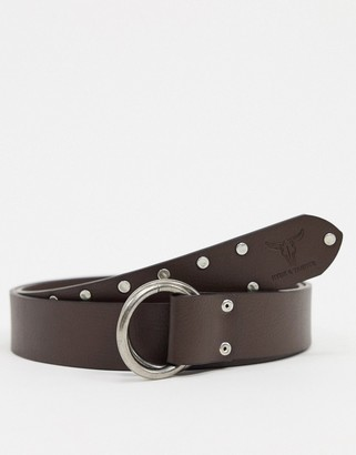 Hyde & Tanner D ring belt