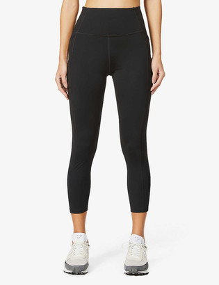 Girlfriend Collective Compressive 7/8 high-rise stretch-recycled polyester leggings