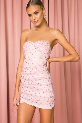 superdown Fifi Mesh Mini Dress