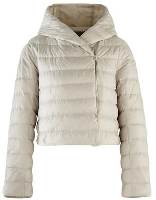 Max Mara Cropped padded jacket with hood