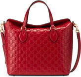 Gucci Signature leather top handle bag