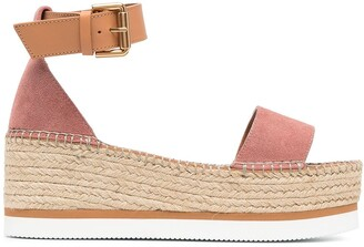 See by Chloe Ankle-Strap Wedge Sandals