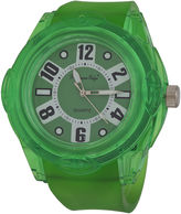 JCPenney ZUNAMMY Zunammy Mens Green Strap Sport Watch