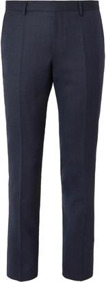 HUGO BOSS Navy Ben Slim-Fit Virgin Wool Suit Trousers