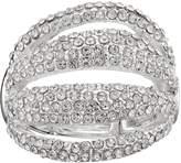 JLO by Jennifer Lopez Pave Multi Row Stretch Ring