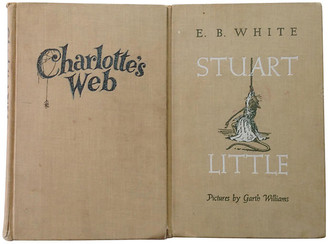 One Kings Lane Vintage Charlotte's Web & Stuart Little - Set of 2 - Brandywine Bookshop - multi