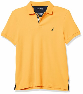 Nautica Men's Slim Fit Solid Deck Polo