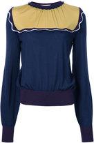 Roksanda contrast sweatshirt - women - Wool - M