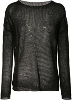 Nili Lotan open knit jumper - women - Linen/Flax - XS