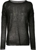 Nili Lotan open knit jumper