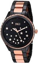 Jivago Women's JV2415 Sky Analog Display Swiss Quartz Two Tone Watch