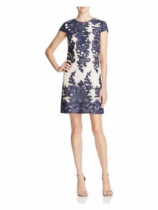 Vera Wang Women's Embellished Mesh Dress