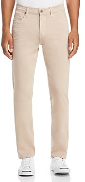 Paige Federal Slim Straight Fit Jeans in Toasted Almond