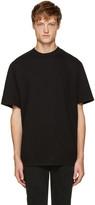 Alexander Wang Black Wide Collar T-Shirt