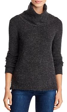 Vero Moda Blakely Side-Zip Fuzzy Sweater