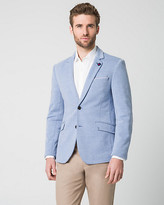 Le Château Cotton Blend Slim Fit Blazer
