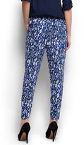 MANGO Diffused printed trousers