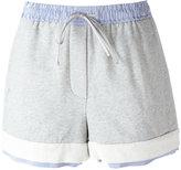 3.1 Phillip Lim drawstring shorts - women - Cotton - XS