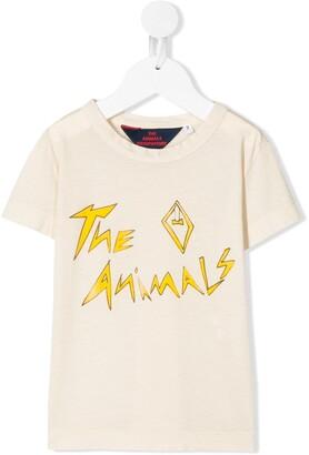 The Animals Observatory slogan print T-shirt