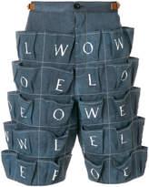 Loewe logo pocket shorts