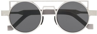 Va Va x Siza Vieira round frame sunglasses