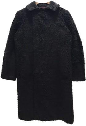 Comme des Garcons Black Faux fur Coats