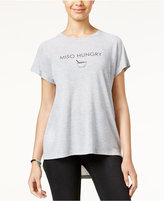 Freeze 24-7 Juniors' Miso Hungry High-Low Graphic T-Shirt