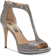 INC International Concepts I.N.C. Sherene T-Strap Evening Sandals, Created for Macy's
