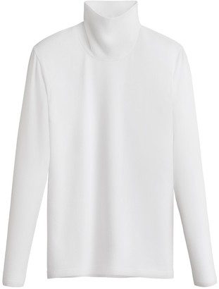 Slim Turtleneck Long Sleeve Tee