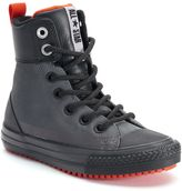 Converse Boys' Chuck Taylor All Star Asphalt Leather Boots