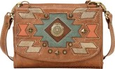 American West Women's Zuni Passage Small Crossbody Bag/Wallet