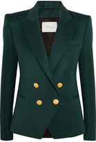 Pierre Balmain Wool-twill Blazer - Emerald