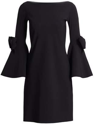 Chiara Boni Zowie Bell-Sleeve Dress