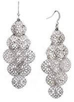 Women's Dangle Earrings - Silver