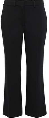 Simone Rocha Cropped Stretch-ponte Straight-leg Pants