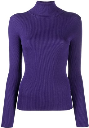 P.A.R.O.S.H. Leila ribbed wool jumper