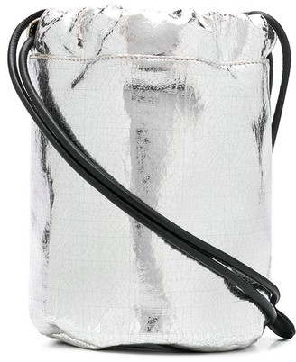 MM6 MAISON MARGIELA Metallic Bucket Bag