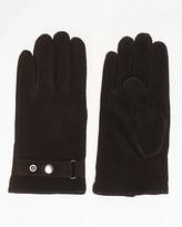 Le Château Suede & Knit Glove